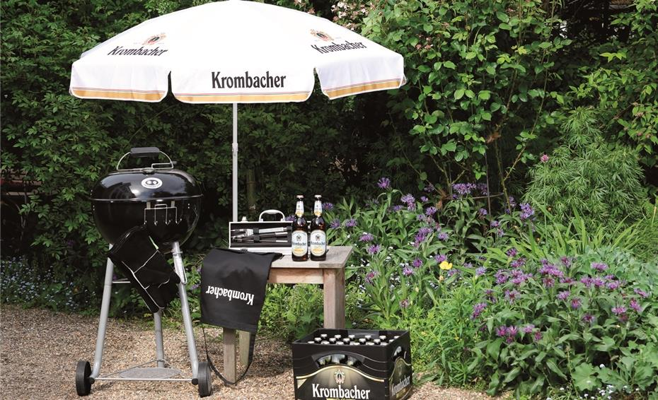 das perfekte grill erlebnis mit krombacher radler. Black Bedroom Furniture Sets. Home Design Ideas