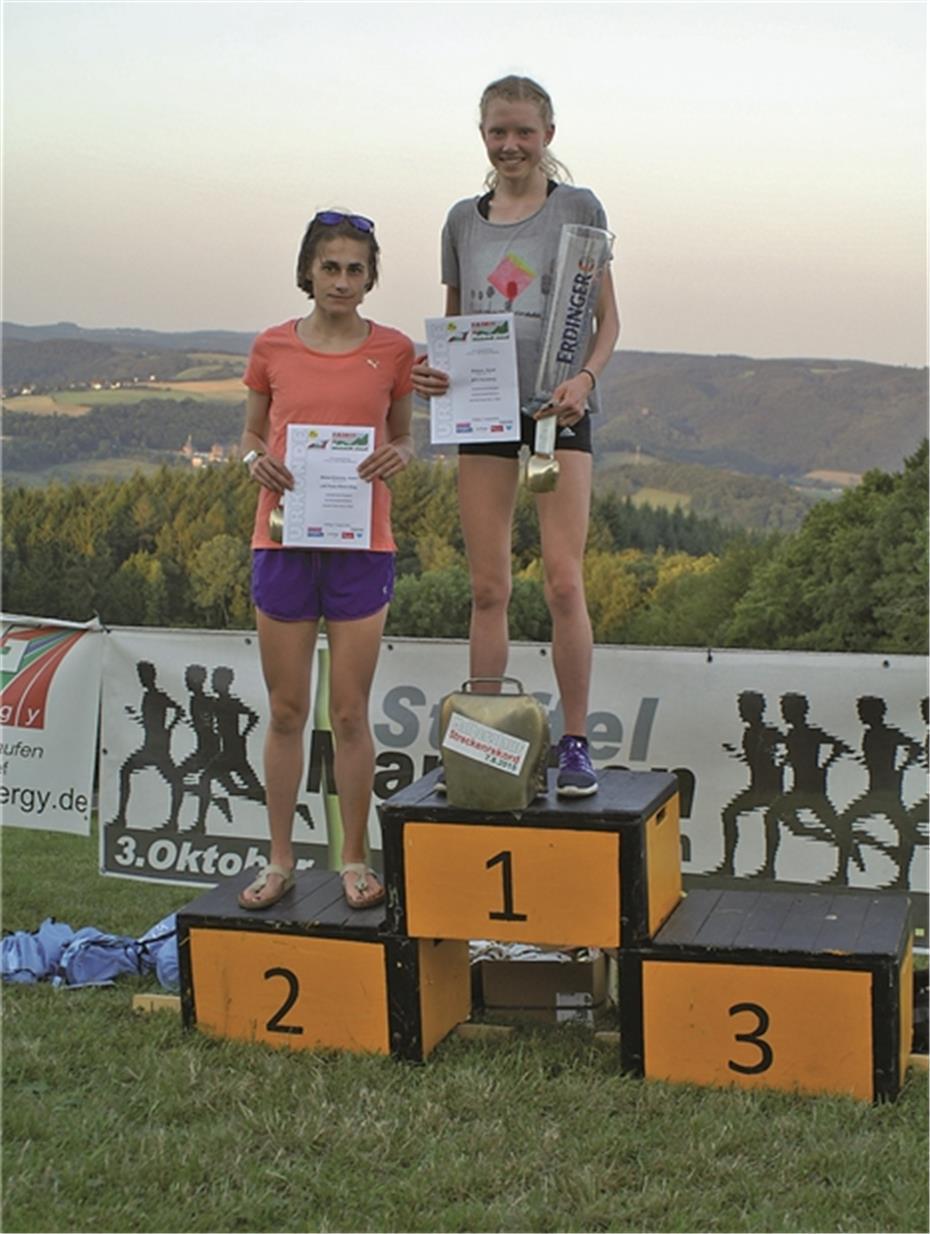 Sarah Kistner bricht den Streckenrekord