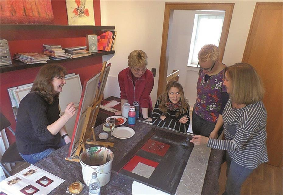 Neue Räume Fürs Malen Im Atelier Helga Wingen