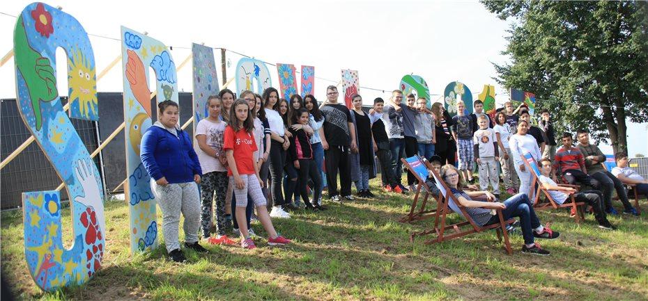 Schuler Bringen Farbe Ins Spack Festival