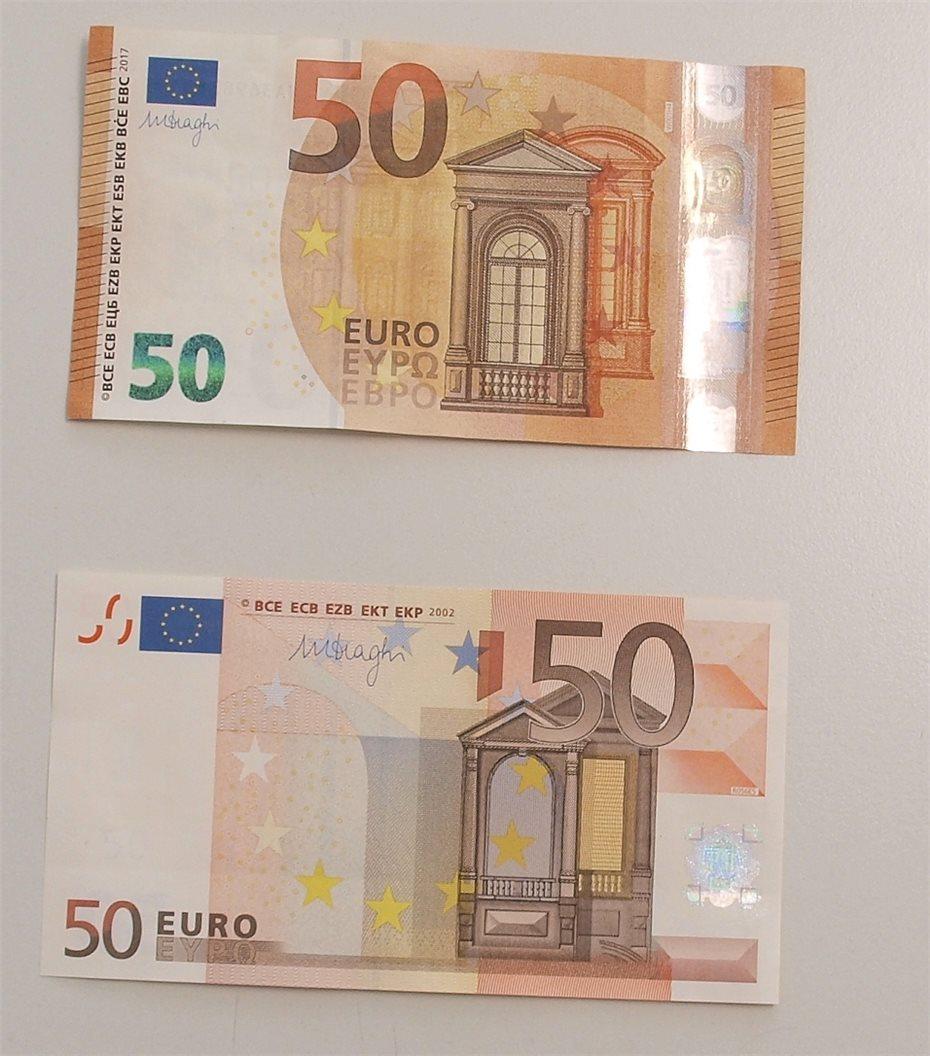 Der Neue 50 Euro Schein Ist Da