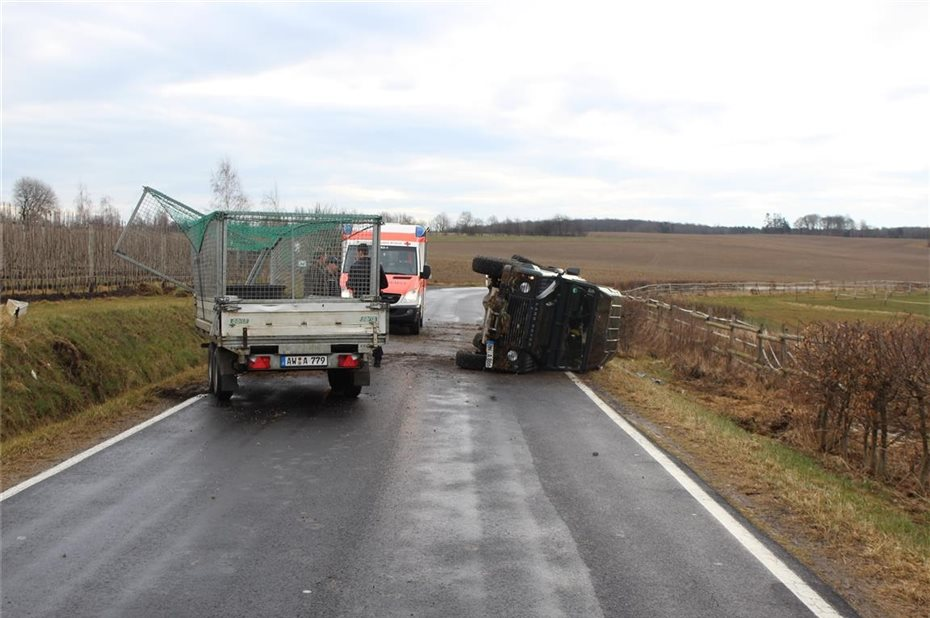 Grafschaft-Birresdorf Verkehrsunfall mit verletztem Mitfahrer