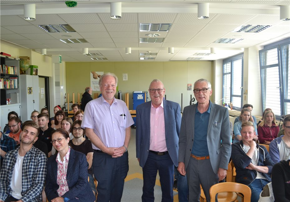 EU-Projekttag in der  Ludwig-Erhard-Schule