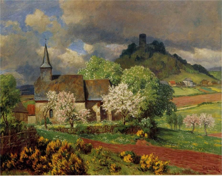 Ein Gruß Zu Pfingsten Oder Frühling In Der Eifel