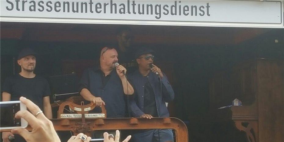 Söhne Mannheims Und Xavier Naidoo