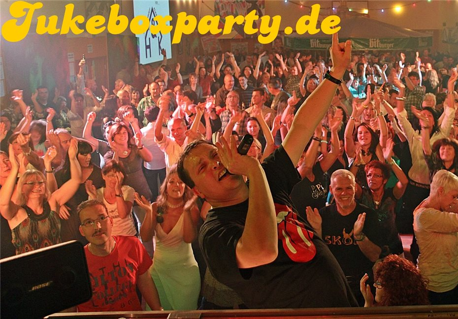 Partystimmung pur