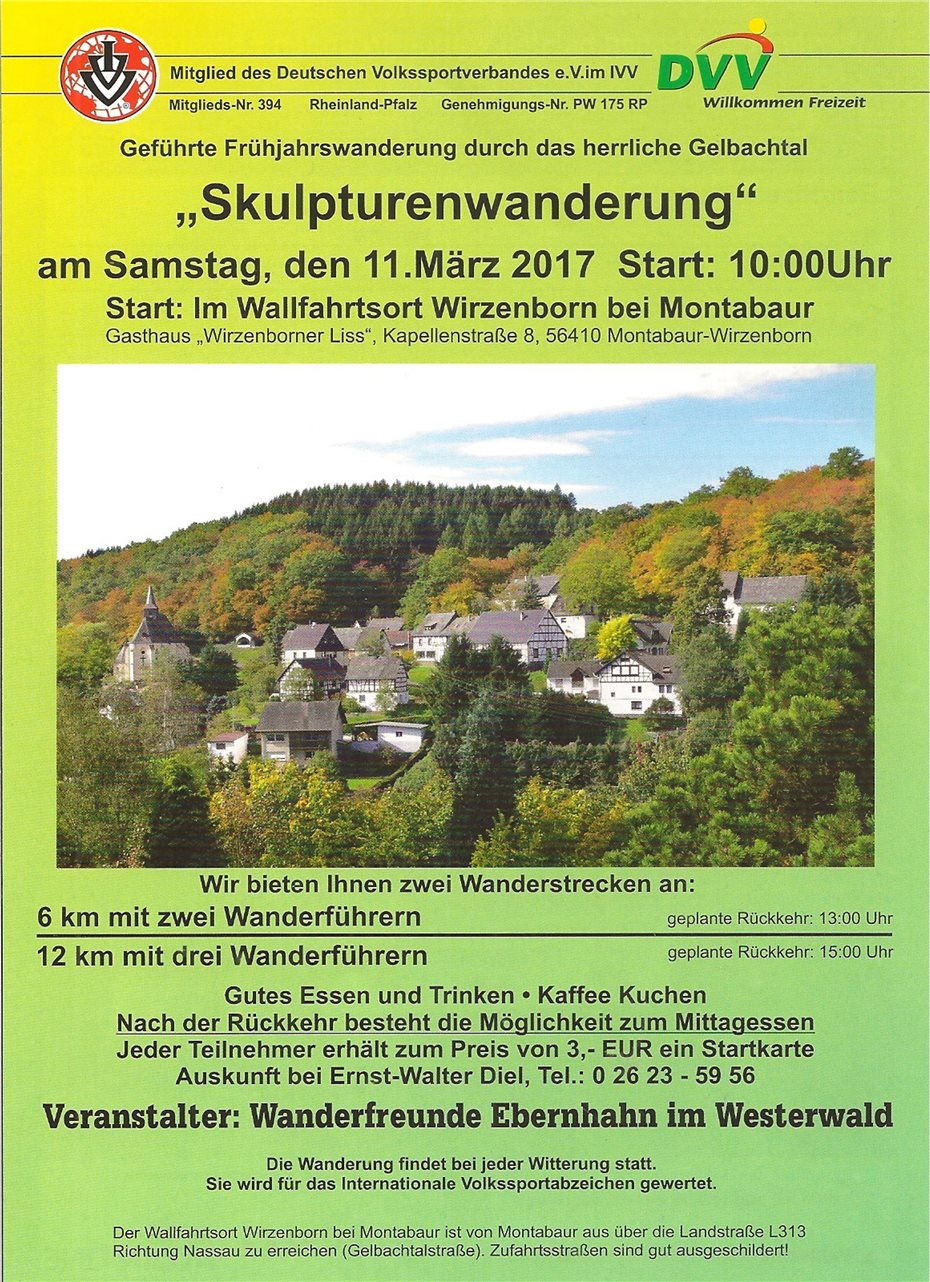 Internationale Wanderung