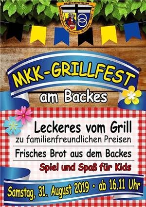 Grillfest am Backes