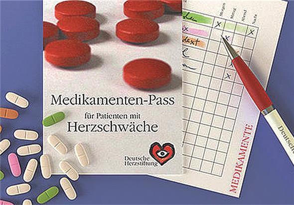 Medikamenten Pass und Notfall Ausweis