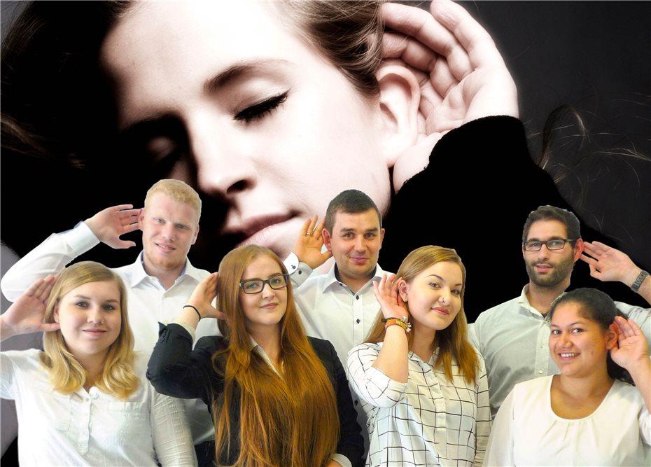 BECKER Hörakustik freut sichüber sieben neue Auszubildende