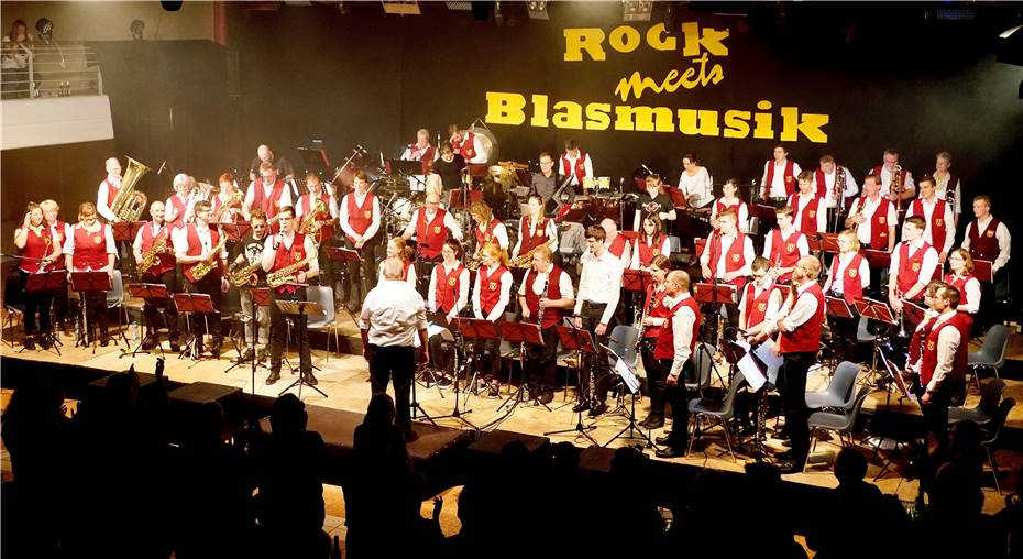 """Rock meets Blasmusik"""