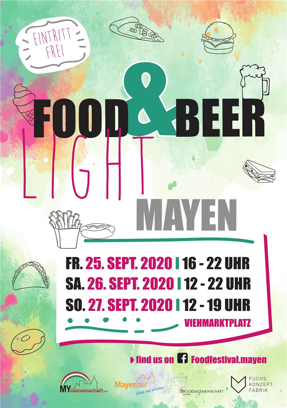 Light-Version von Food & Beer Festival