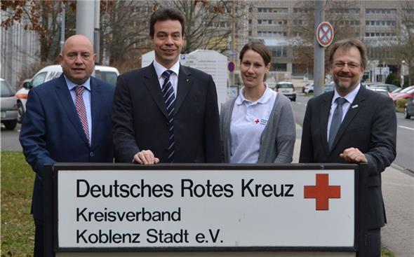 Biebricher besucht DRK-Mittelrhein - Blick aktuell