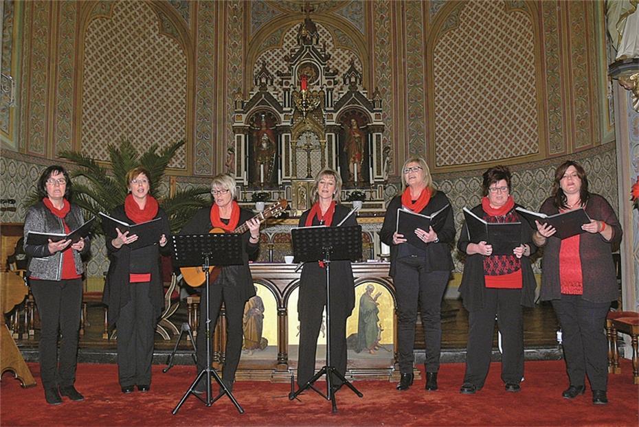 Bekannte Weihnachtslieder wunderschön a cappella intoniert