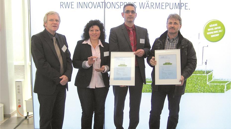 Rwe Innovationspreis F R W Rmepumpen Erneut An Gst Wagner