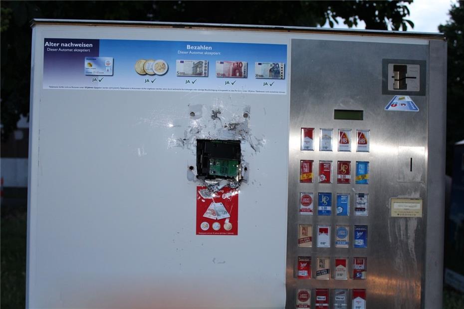 Zigarettenautomat Innenleben