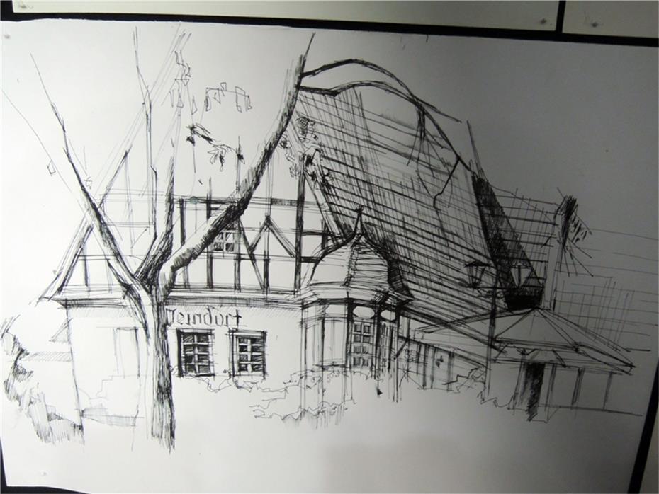 Ein leben f r architektur und kunst - Architektur zeichnen ...