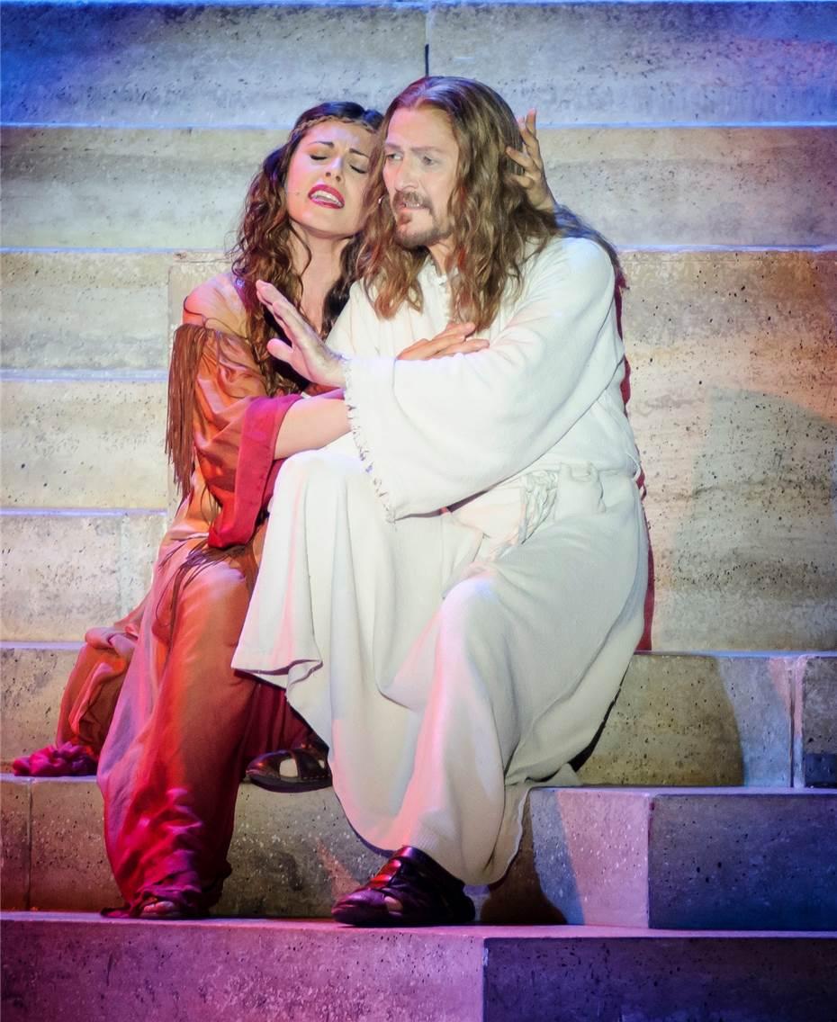 "Jesus Christ Superstar"" mit Hauptdarsteller Ted Neeley"