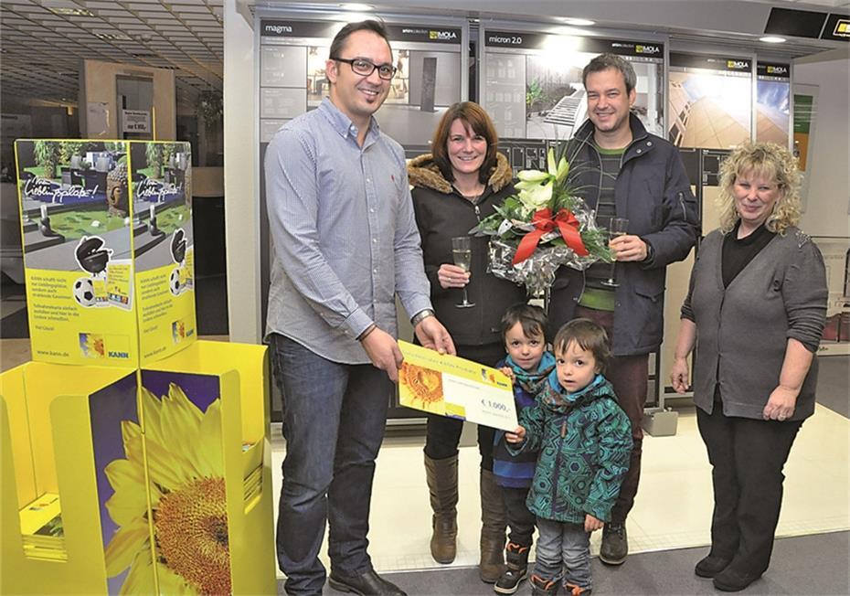 Junges Ehepaar gewann Waren-Gutschein über 1000 Euro