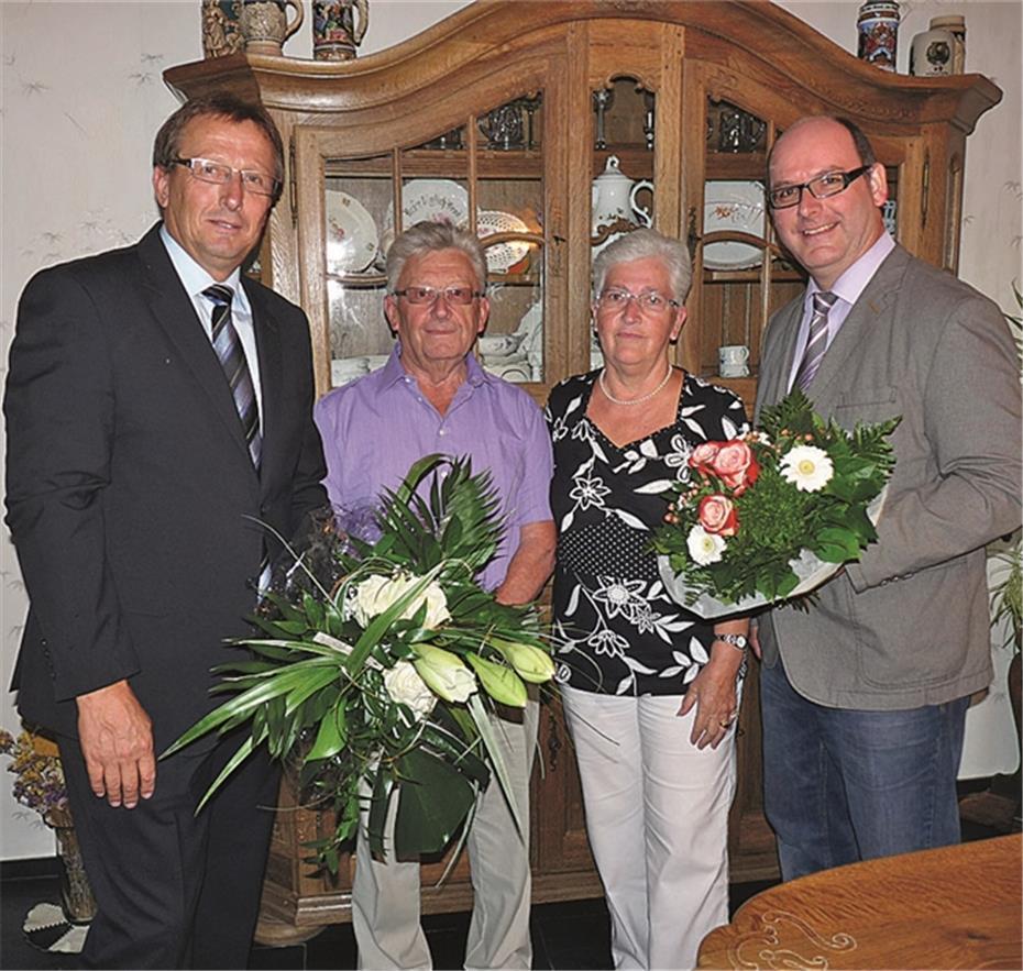 Helga und Alfons Müller aus Rieden feierten Goldhochzeit