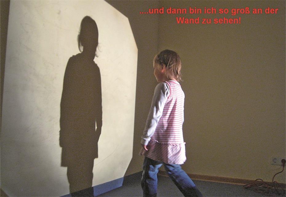 Licht und schatten im spiel erfahren - Schattenbilder kinder ...