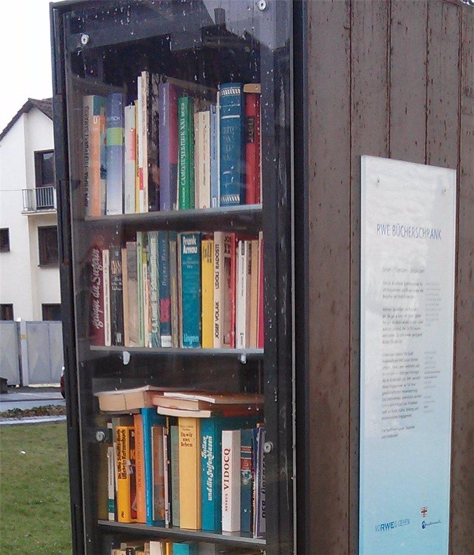 Ein öffentlicher Bücherschrank soll her