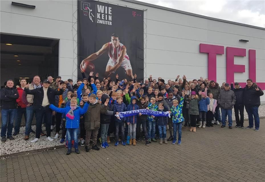 Ausflug Zum Spiel Der Telekom Baskets Bonn