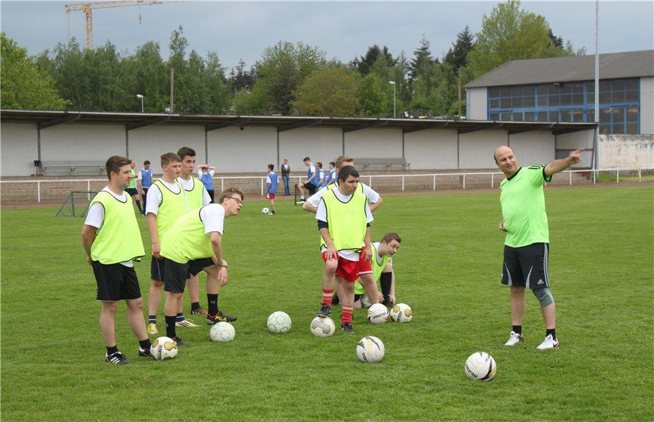 Inklusionsfußballcamp