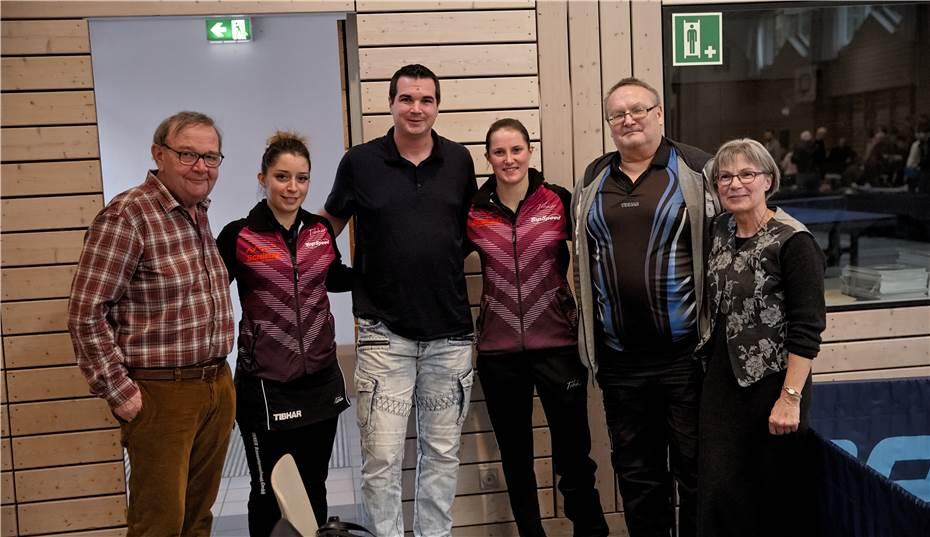 Befreundeter TT-Verein TSV Schwabhausen spielte in Bingen