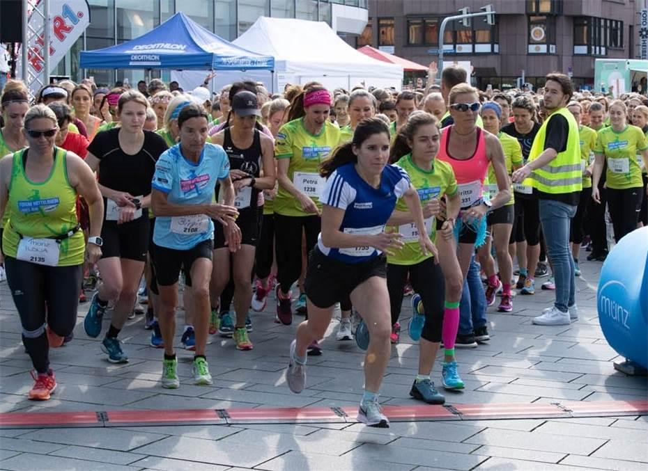 Viola Pulvermacher gewinnt den Forum Mittelrhein Ladies Run