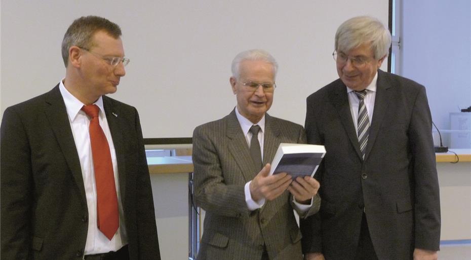 80. Geburtstag von Professor em. Dr. Alfons Weiser SAC gefeiert