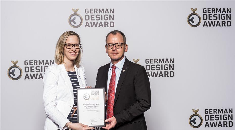 German Design Award 2018 für Kern-Haus